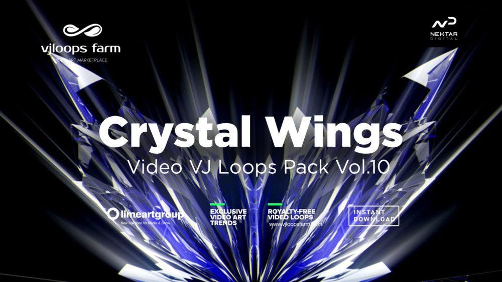 Crystal Wings vj loops