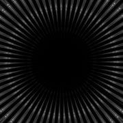 black background art vj loop
