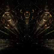 Fiery reflection on liquid surface_vj_loops_Layer