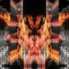 fire video background footage vj loop