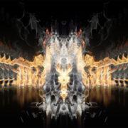 fire video art pattern VJ Loop