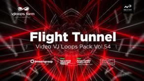 tunnel flight vj loop
