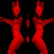Frau_Rabbit_Girl_Woman_Dancing_Go_Go_Dance_Video_Footage_VJ_Loop_Layer_2