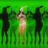 jumping rabbit girl in playboy costume go go dancing woman