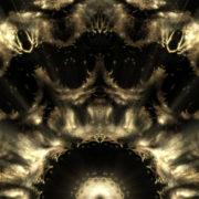 Gold tree abstract wallpaper vj loop