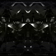 Glitch black Seamless 3D abstract animation of geometric glass_visuals_vj_loops_Layer jpeg