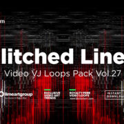 Glitched Lines vj loops