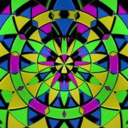 colorful vj loop