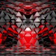 red video motion background vj loop