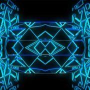 blue video motion background vj loop