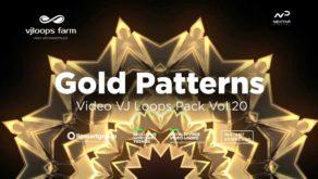Gold-Patterns-Video-Art-Vj-loop