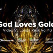 Golden-Motion-Background-Vjloop