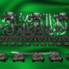 saudi arabia army 3d animation video footage vj loop