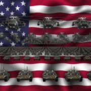 Grand_Army_Warrior_on_Flag_National_Video_Background_3D_Vj_loop_Layer_329