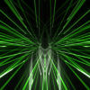 Green sparkling cosmic motion_tunnel_vj_loops