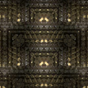 Grid lustrous Abstract loop gold 3d wave_vj_loops_Layer