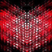 red video footage vj loop