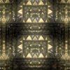 golden video pattern vj loop