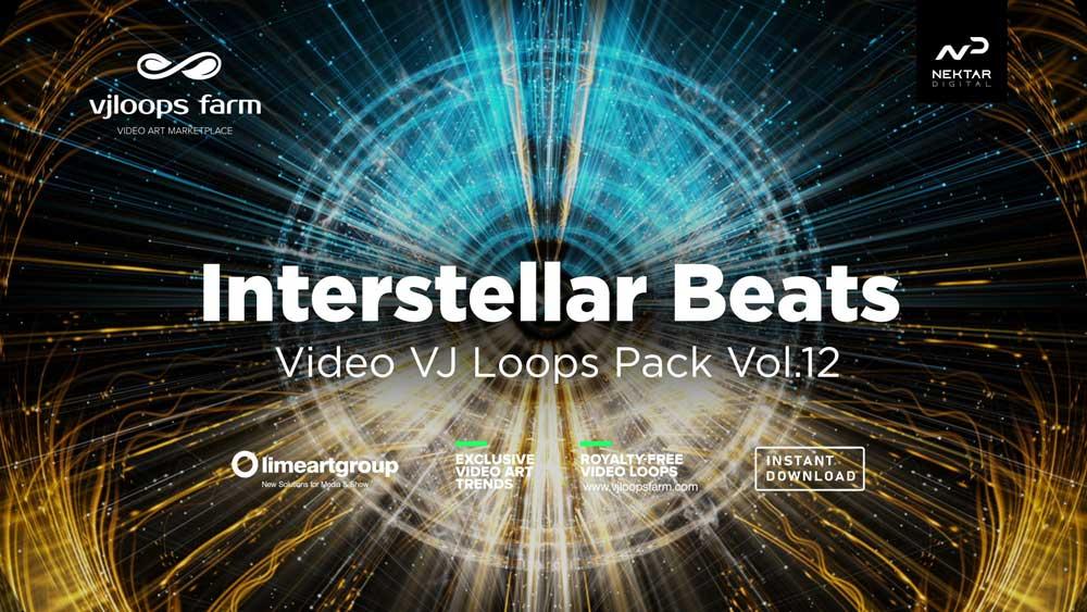 Interstellar-vj-loops-3d-visuals