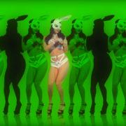 visuals go go dancing girl vj loop