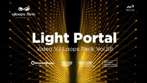 gate light abstract video wallpaper vj loop