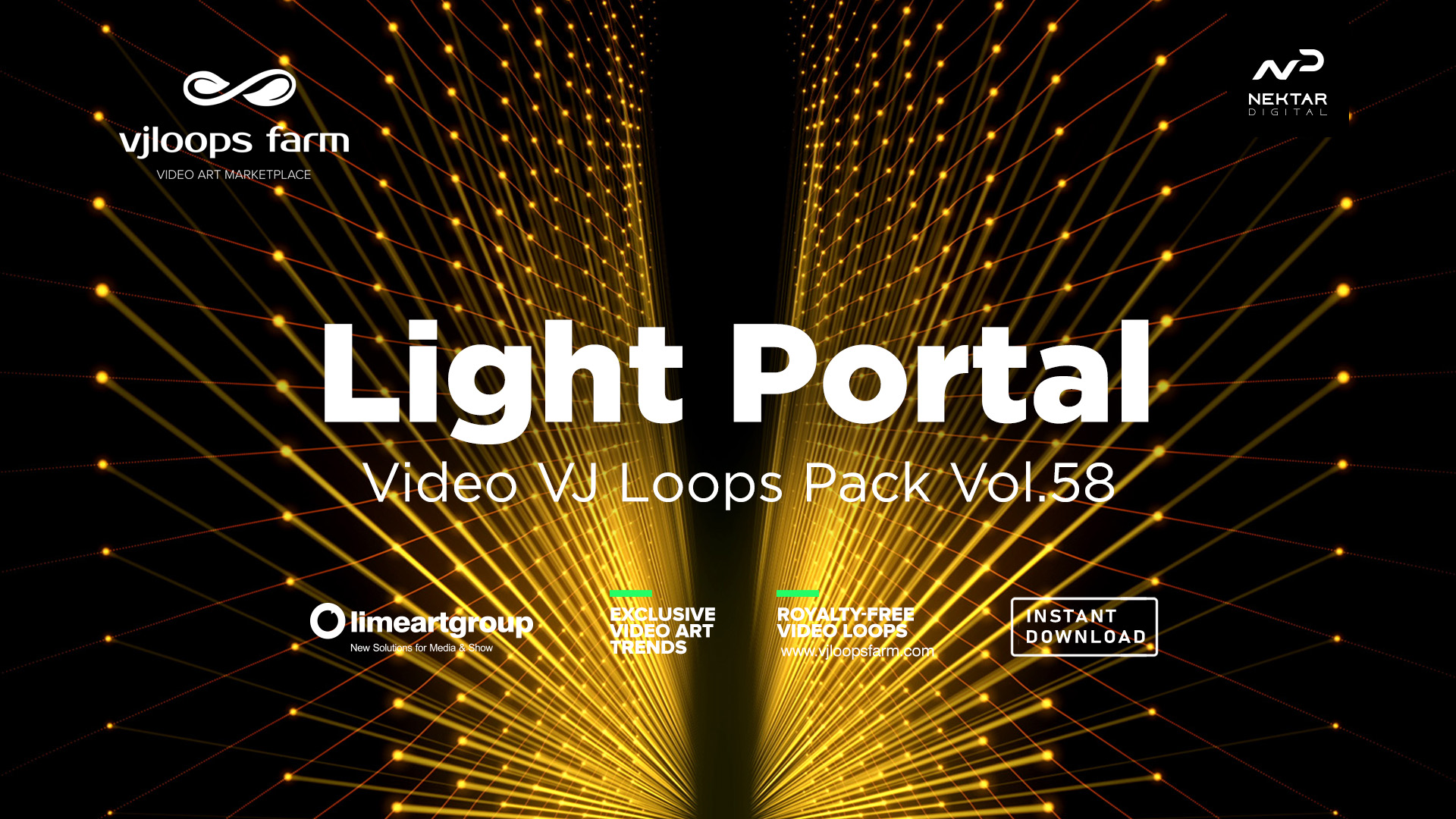 gate light abstract video wallpaper vj loop