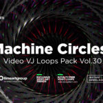 MAchine Circles engine abstract vj loop