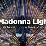 Madonna Light abstract visuals