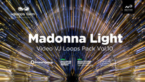Madonna Light abstract visuals