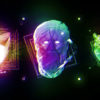 motion graphics head animation