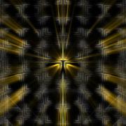 Art Gold wallpaper vj loop