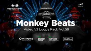 Monkey-Beats-Video-art-vj-loop