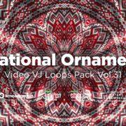National-ukraine-ornament-video-footage