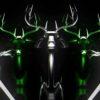 neon deer visuals video footage vj