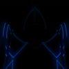 red blue neon vj loops