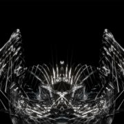 Neuro metamorphose of amorphous shape abstract animation Wallpaper