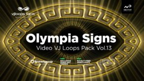 Olympia-Signs-Greece-VIdeo-Footage-Vj-loop