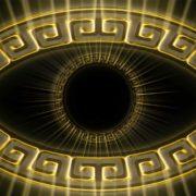 eye Olympia_Greece_Symbols_Ornament_Gold_Motion_Background_Video_VJ_Loop