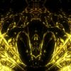 gold video art pattern motion background vj loop