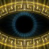 eye sign Olympia_Greece_Symbols_Ornament_Gold_Motion_Background_Video_VJ_Loop