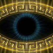 eye sign Olympia_Greece_Symbols_Ornament_Gold_Motion_Background_Video_VJ_Loop