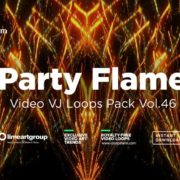 Party-Flame-video-art-vj-loops
