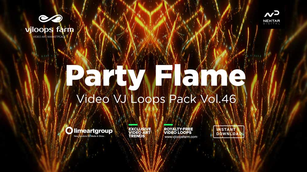 Party-Flame-video-art-vj-loops