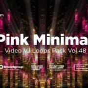 Pink-Minimal-VJ-loops