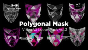 Polygonal-low-poly-mask-animation-vj-video-loops
