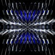 blue Polygonal_Ice_Fire_Wings_Video_Art_Vj_Loop