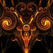 Radiating fireworks_visuals Abstract Background. Loop Animation_vj_loops_Layer