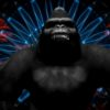 vj loops monkey ape gorilla 3d animation