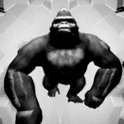 Rave_Apes_Monkey_Gorilla_Video_Footage_3D_Animation_VJ_Loop