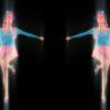 dance video footage girl vj loop